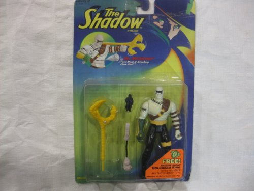 Dr. Mocquino Action Figure with Mace & Attacking Claw Staff - 1994 The Shadow Series