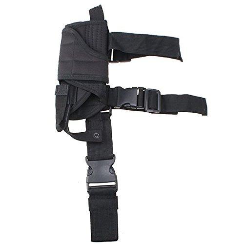For Sale! AGPtek® Tactical Army Black Pistol/Gun Drop Leg Thigh Holster