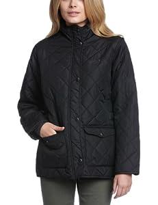 Regatta Ladies Jacket Diamond Quilted Water Repellant Micro Poplin Missy Jacket[Black,10]