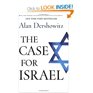 The Case for Israel, by Alan Derschowitz