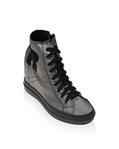 Ruco Line Zapatillas de cuña 4916 Tessil 68878 S Arcilla