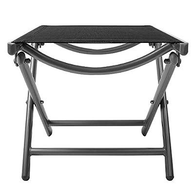 Nexos Hocker Alu Hocker / Sitzhocker Aluminium, schwarz von Nexos bei Gartenmöbel von Du und Dein Garten