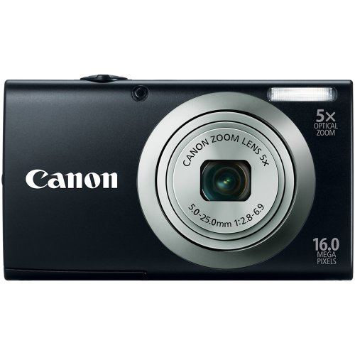 41n0PJhS1%2BL Canon PowerShot A2300 IS 16.0 MP Digital Camera with 5x Digital Image Stabilized Zoom 28mm Wide Angle Lens with 720p HD Video Recording (Black) Reviews