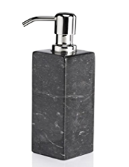 Black Marble Square Soap Dispenser