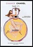 --Scented PRINT AD-- With Anne Vyalitsyna For 2004 Chanel Chance Fragrance