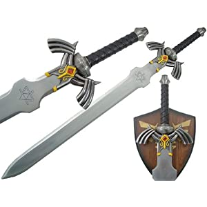 Link Master Sword Zelda Twilight Princess Fantasy Dagger with Plaque