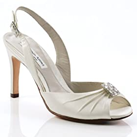 duchesse silk wedding shoes