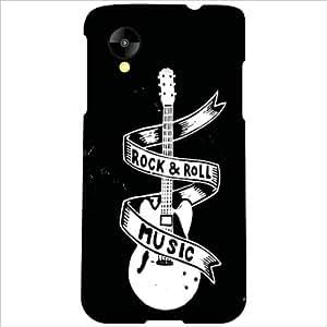 LG Nexus 5 LG-D821 Back Cover - Music Designer Cases