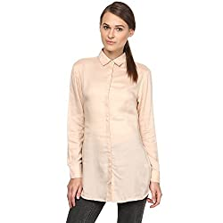 Annapoliss Women's Shirts (ANWH10_Beige_Small)
