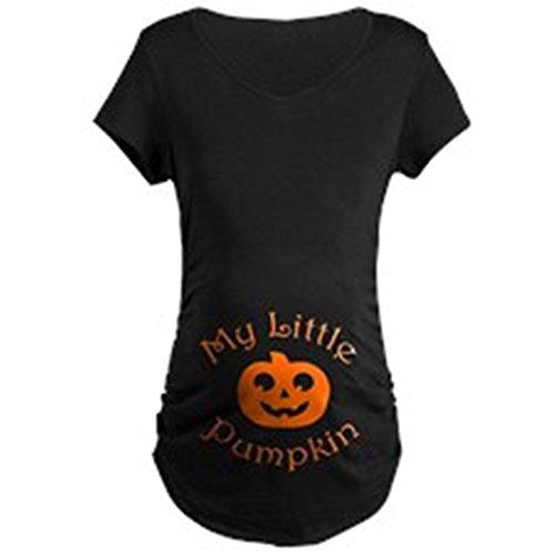 Cute Maternity Pumpkin T-Shirt