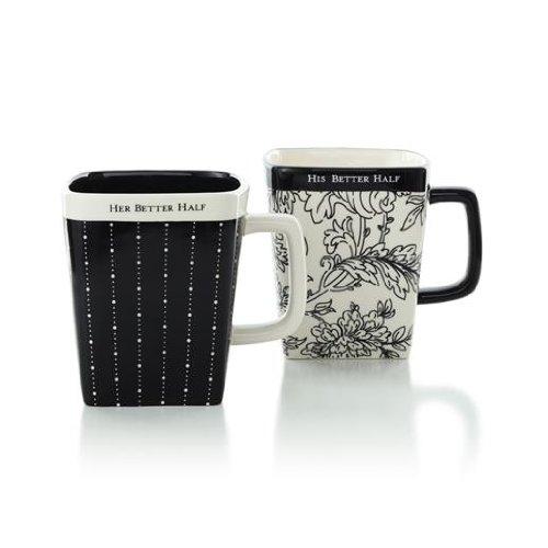 Hallmark Wedding WEH6018 Wedding Mug Gift Set