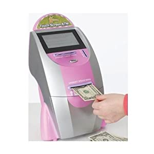 Zillions Touch Screen ATM - Pink
