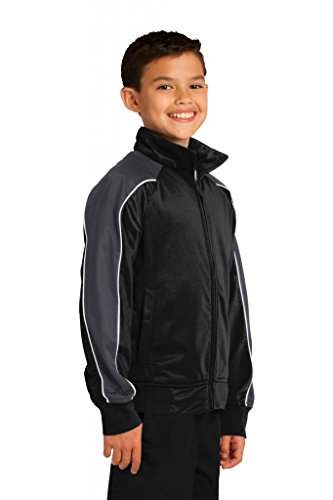 Buy Cool Shirts Youth Kids Piped Two Tone Track Jacket