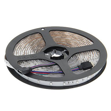 Ch&Ch Impermeabile 5M 24W 300x3528SMD RGB LED Light Strip con 44-Button Remote Controller (DC 12V)