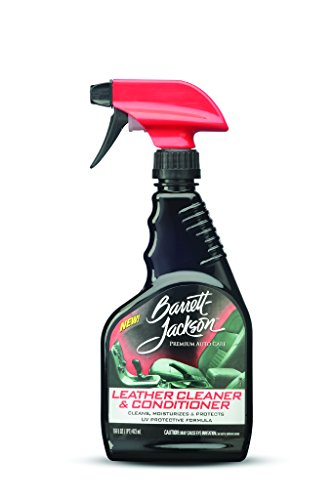 barrett jackson car leather cleaner leather seat cleaner and car leather conditioner with uv. Black Bedroom Furniture Sets. Home Design Ideas
