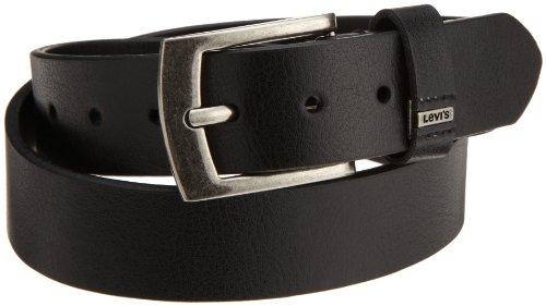 Levi's Big Boys' Belt With Ornament Logo,Black,Large (Levi Black Belt compare prices)
