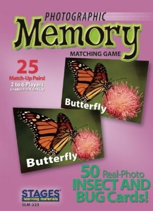 Photographic Memory: Insects and Bugs - Buy Photographic Memory: Insects and Bugs - Purchase Photographic Memory: Insects and Bugs (Stages Learning Materials, Toys & Games,Categories,Games,Card Games,Flash Cards)