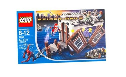 LEGO Spiderman 4856: Doc Ock's Hideout