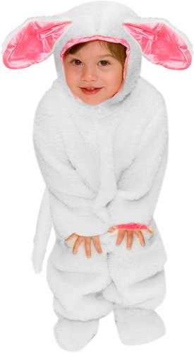 Children's Cute Lamb Costume (Size:Small 6-8)