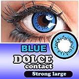 ドルチェ ストロングラージ 度なし 1箱2枚入 14.5mm (BLUE【ブルー】) ランキングお取り寄せ