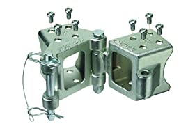 "Fulton HDPB350101 Fold-Away Bolt-On Hinge Kit for 3"" x 5"" Trailer Beam - up to 9,000 lb. GTW"