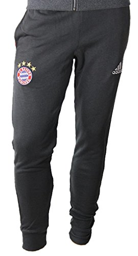 adidas Men's FC Bayern Munich Sweat Pant (Medium) Dark Grey