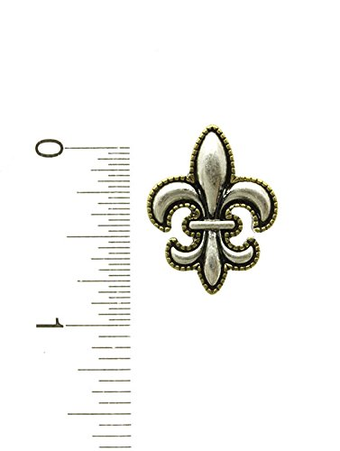 Silver Post Pin Fleur De Lis Earring Fashion Jewelry And Accessory Beautiful Charms