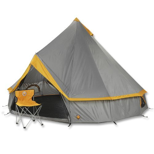 Grand Canyon Indiana 8 Person Tent - Stone/Sand