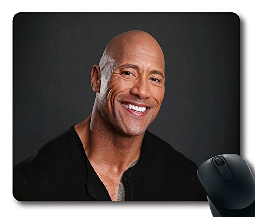 custom-gaming-mouse-pad-with-the-rock-dwayne-johnson-action-actor-celebrity-non-slip-neoprene-rubber
