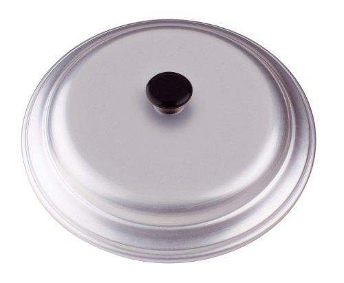 Pentole Agnelli Coperchio Bombato in Alluminio BLTF, con Manico in Bachelite, per Pentole Bombate, Argento, 20 cm