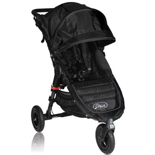 Baby Jogger City Mini Gt Single Stroller, Black (Discontinued By Manufacturer) front-1005701