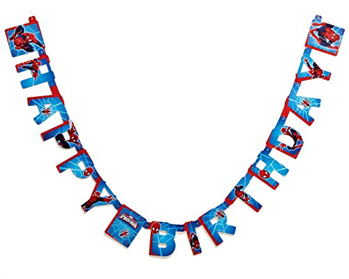 Spider-Man Birthday Party Banner, Party Supplies