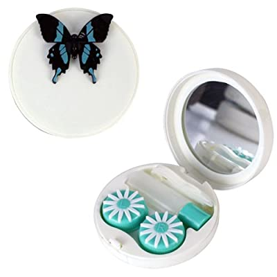 3D Butterfly Contact Lens Travel Kit