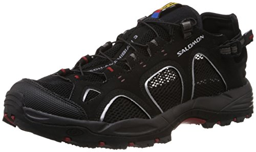 Salomon Techamphibian 3 Men Outdoor Schuhe black-autobahn-flea - 41 1/3