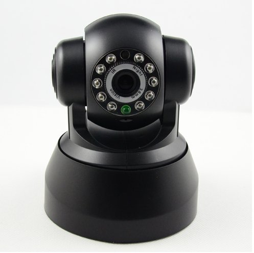 Provenice Wirelss Wifi Security Webcam Ip Camera Baby Monitor Watcher Mobile View Do Black front-234378