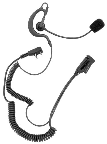 Midland TH1 Tactical Series Headset with Earphone and Adjustable Boom Mic
