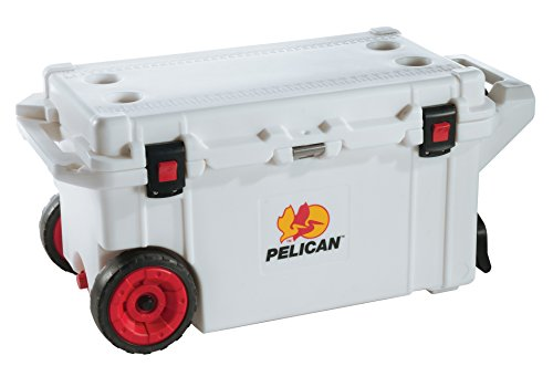 Pelican 80 Quart Wheeled Elite Cooler - Marine White (80 Qt Cooler Pelican compare prices)