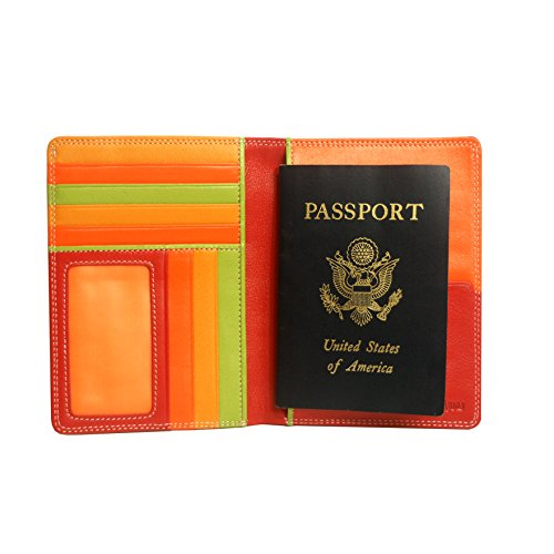 belarno-a236-leather-zip-passport-cover-red-multicolor
