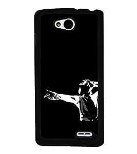 ifasho Designer Phone Back Case Cover LG L90 :: LG L90 Dual ( Old Man Killer Look )