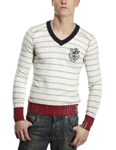 Replay UK2870 Mens Jumper Red Medium