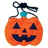 【ハロウィン雑貨】パンプキンポシェット(1個)  / お楽しみグッズ(紙風船)付きセット