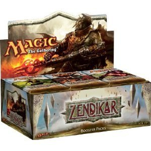 Magic the Gathering Card Game Zendikar Booster Box 36 Packs