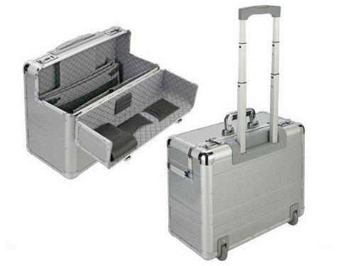 Pilotenkoffer Aktenkoffer Koffer mit Trolley