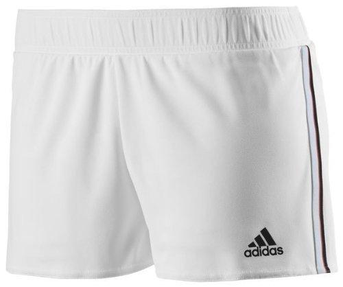 Adidas Pantaloncini Da Tennis Donna - Bianco/Nero, S