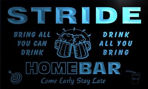 q43587-b-stride-family-name-home-bar-beer-mug-cheers-neon-light-sign