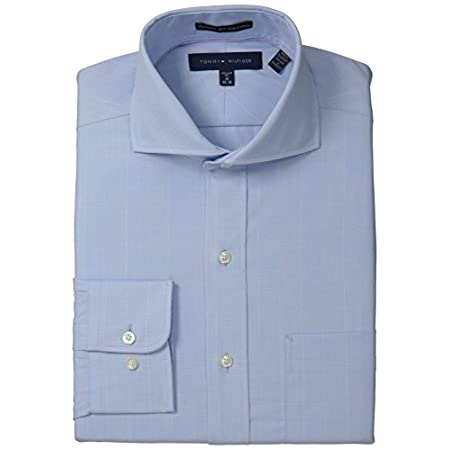 Long sleeve non-iron regular fit dress shirt