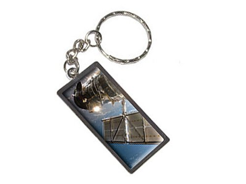 Graphics And More Hubble Telescope Astronomy Space Keychain Ring (K1669)