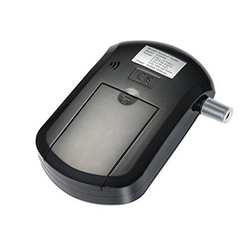 COOSA Éthylotest Breath Détecteur analyseur portable Breath police Numérique Alcool Écran LCD testeur alcootest
