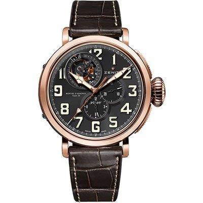 Zenith Pilot Montre d Aeronef Men's Watch - 87.2430.4035/21.C721