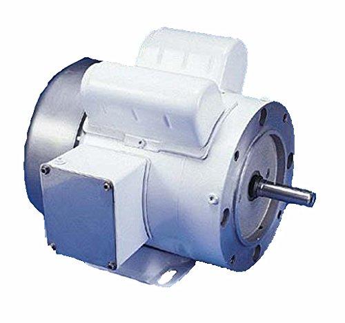1 Hp 1725 Rpm 56C Frame (Rigid Base) C-Face 115/208-230V Wash Down Duty Leeson Electric Motor # 1125